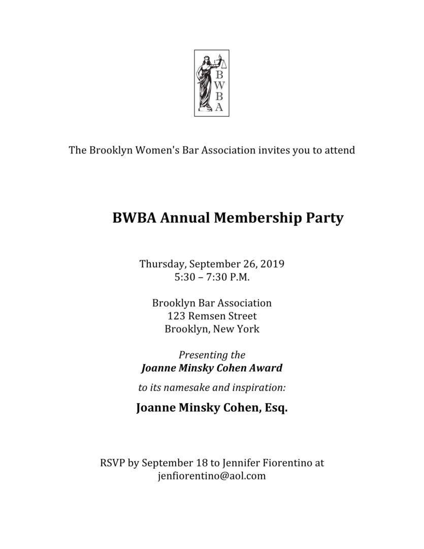 Brooklyn Women's Bar Association
